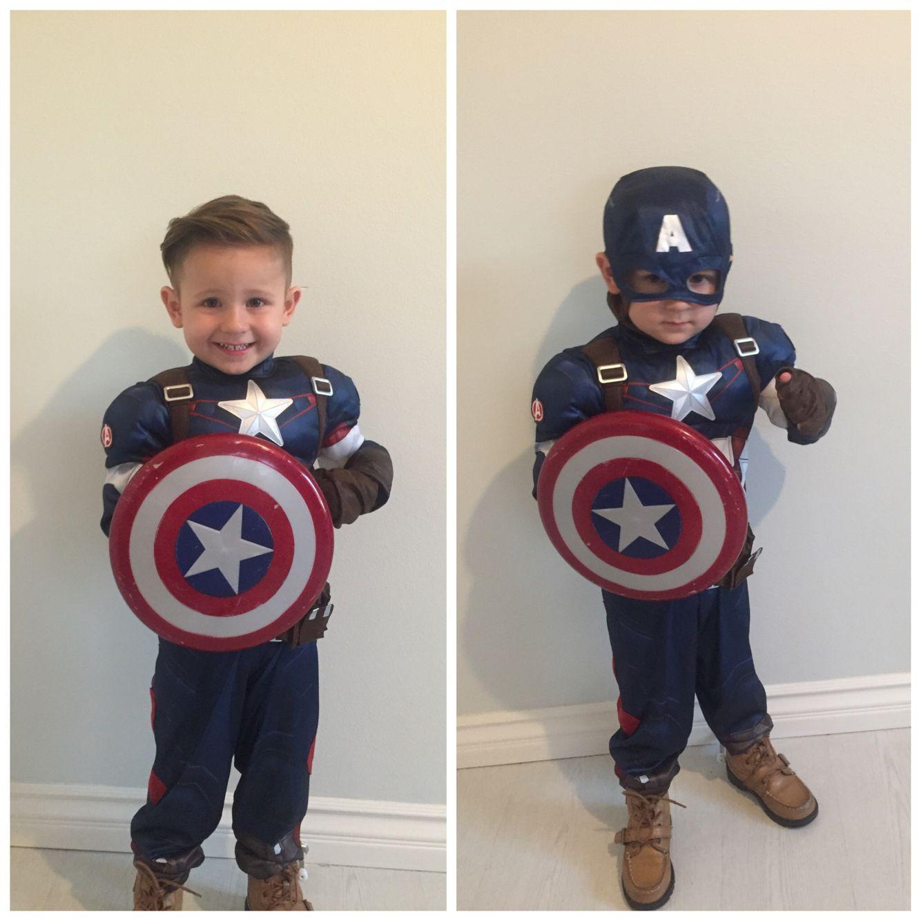 Captain America Halloween Costume kids, toddlers. | Halloween ...