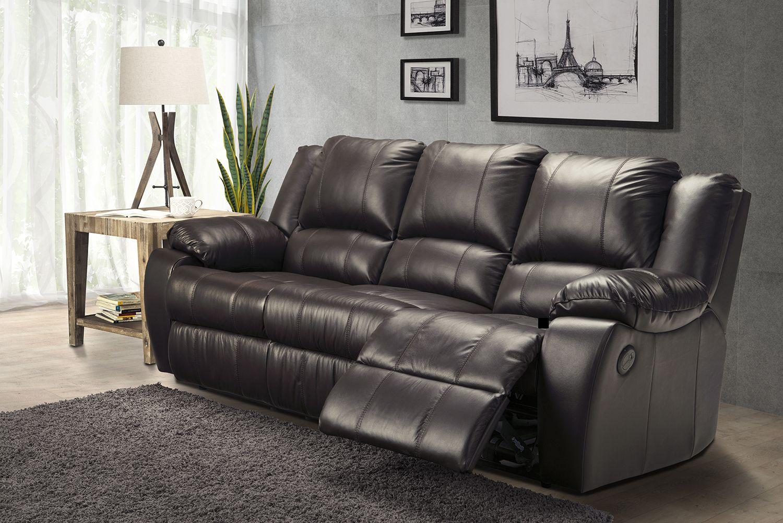 Astounding The Mira Reclining Sofa Pictured Here In Dark Brown Is Not Inzonedesignstudio Interior Chair Design Inzonedesignstudiocom