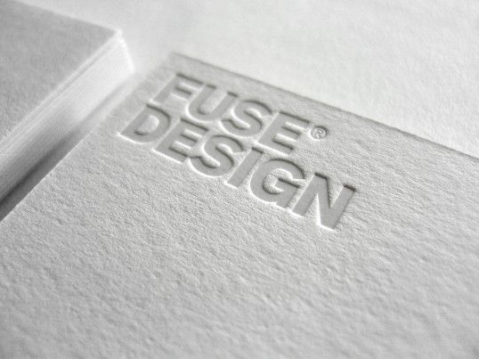Business card embossed white on white by studio fuse design business card embossed white on white by studio fuse design reheart Gallery