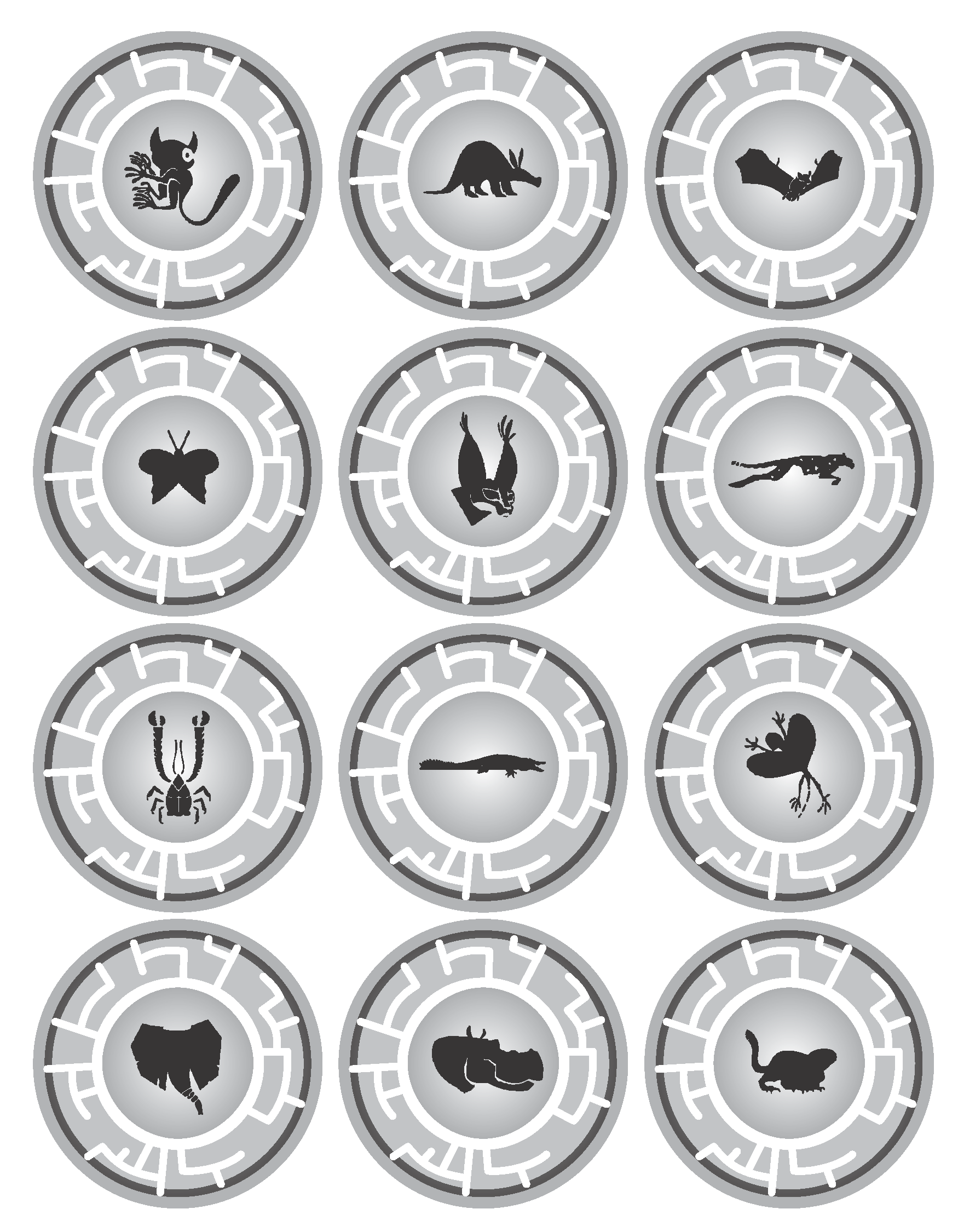 Here S A Pdf Of Some Of The Creature Power Discs I Ve Made For My Kids Who Love Wild Kratts And Dr Wild Kratts Wild Kratts Birthday Wild Kratts Birthday Party