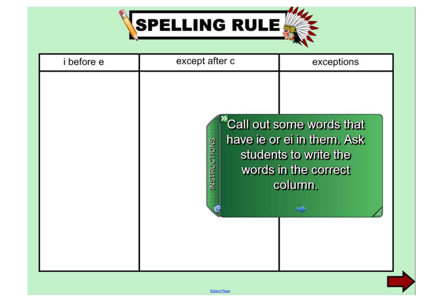 Explore the spelling rule i for e except after c plus the explore the spelling rule i for e except after c plus the exceptions with sciox Image collections