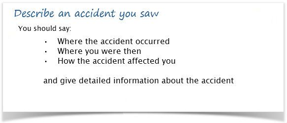 Describe an accident you saw Prepare IELTS Pinterest Teacher - how to write an incident report