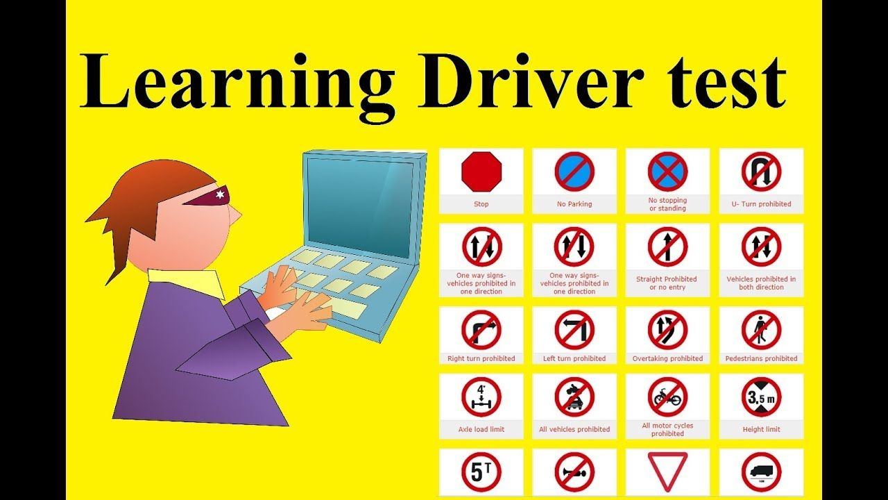 Learning Driving Licence Test Question Learning License Sample