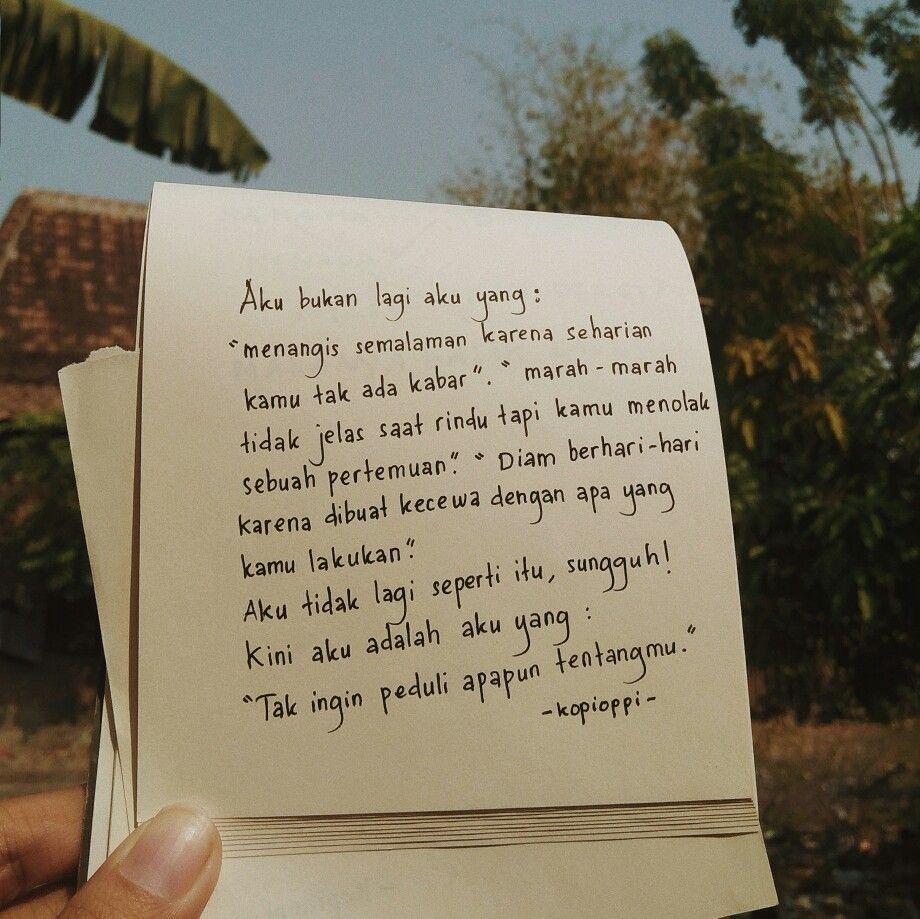 Pin Oleh Kata Berkisah Di Tulisan Tangan Kopioppi Dengan Gambar