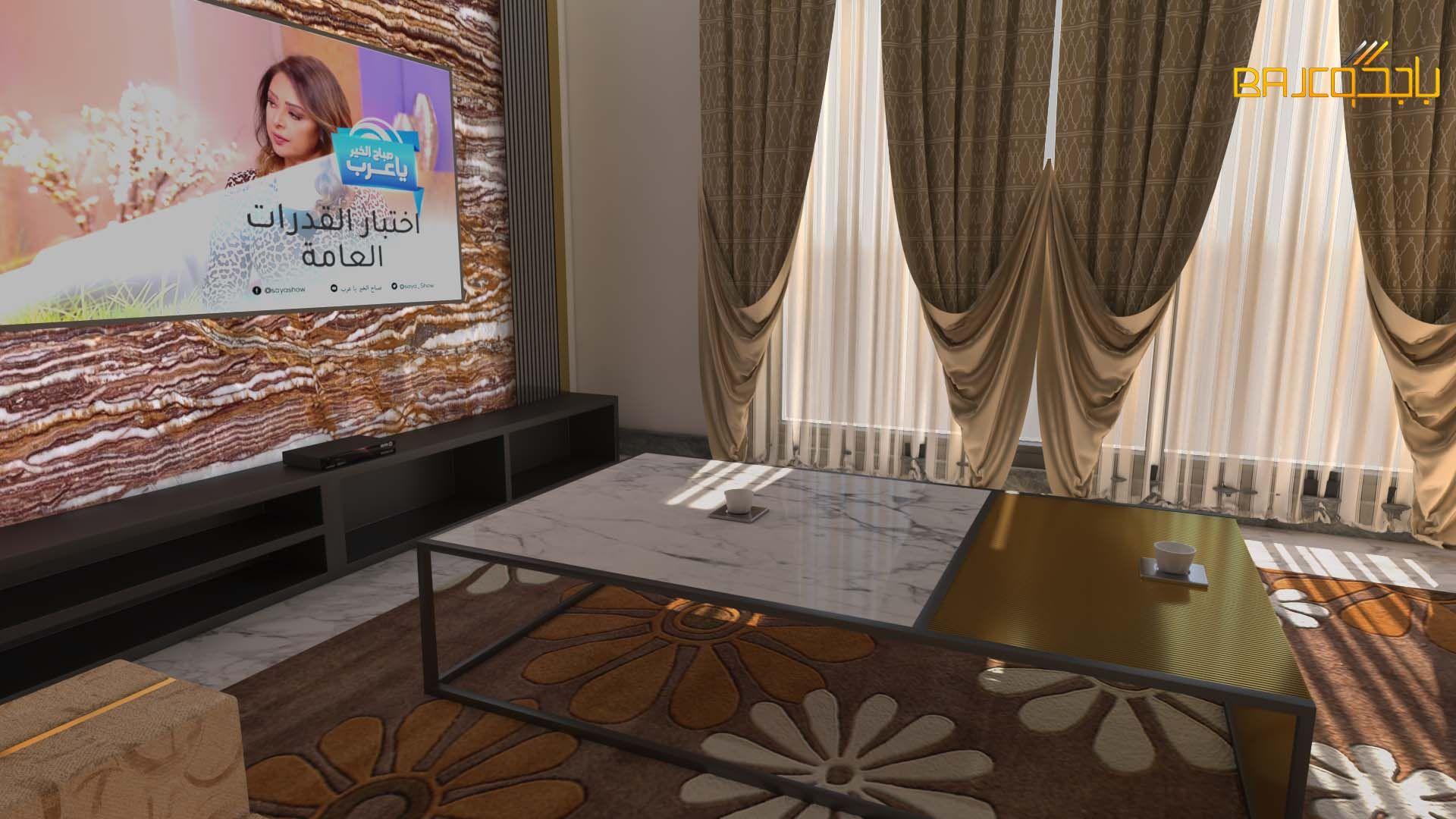 رخام اونكس Marble Flat Screen Electronic Products