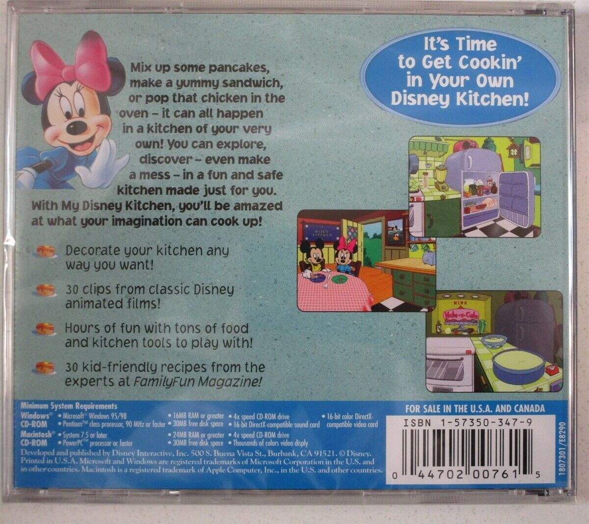Video Game PC My Disney Kitchen NEW SEALED Jewel $24.99 #my #disney #kitchen #disneykitchen