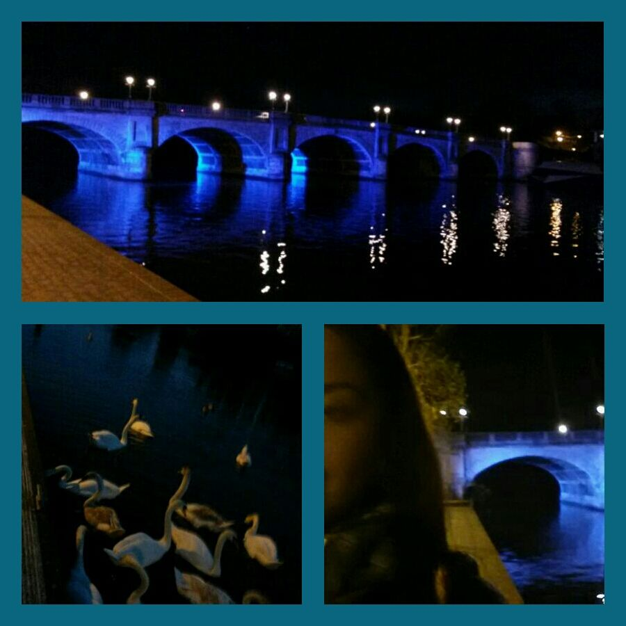 Kingston Upon Thames Is Quite Beautiful At Night Kingston Upon Thames Thames Kingston
