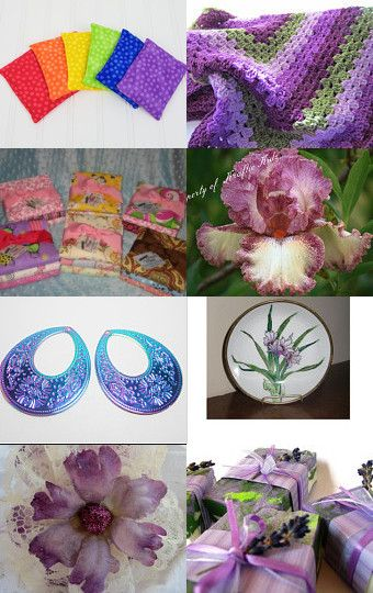 Shades of Purple curated by Teresa and Jessica on Etsy!