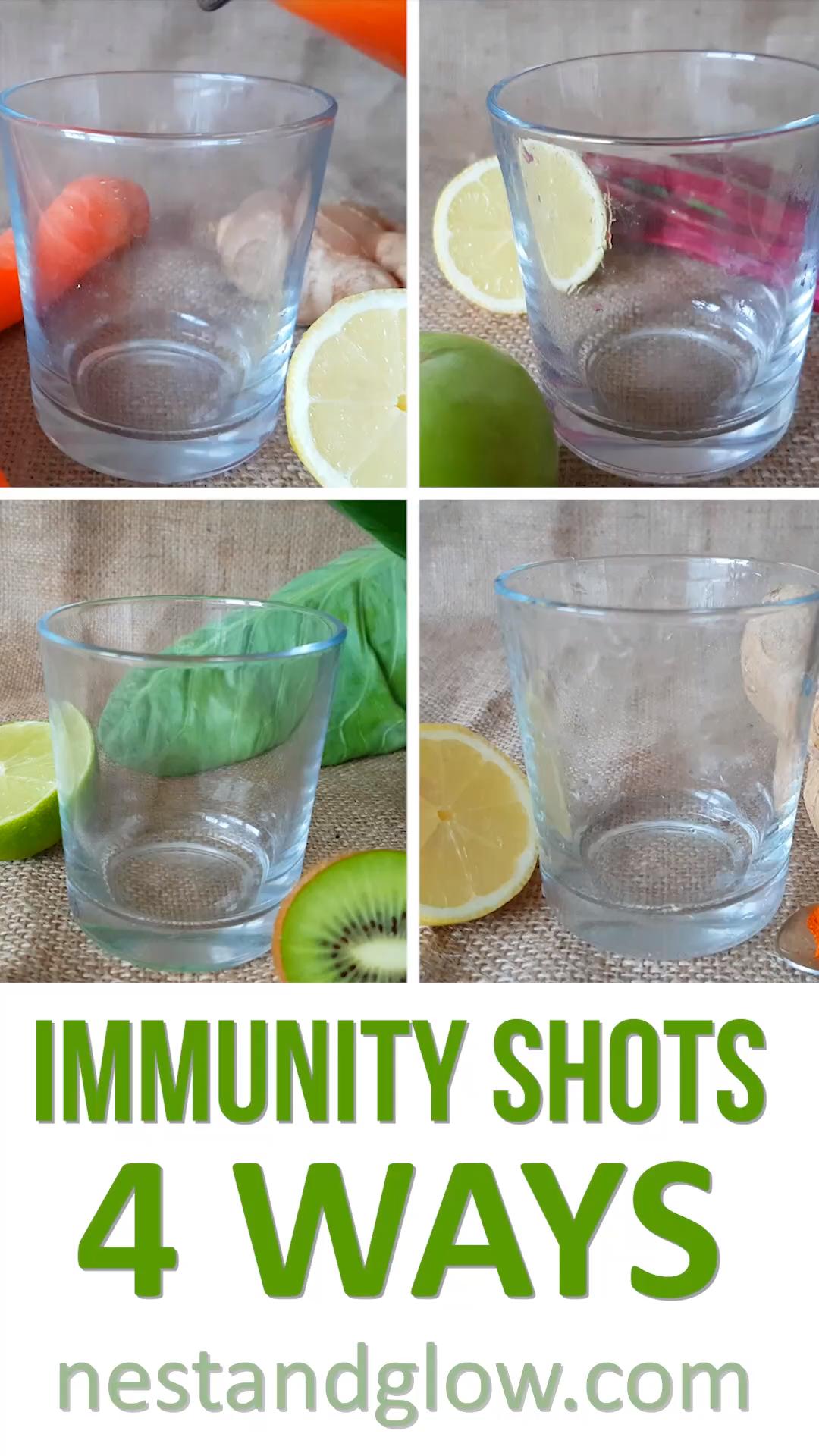Immunity Shots WITHOUT the Juicer