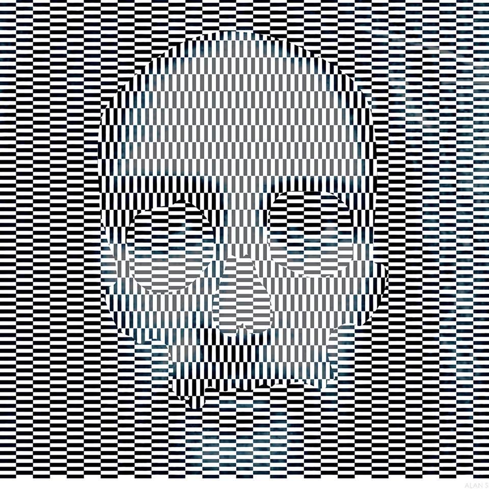 Картинки иллюзии с надписями