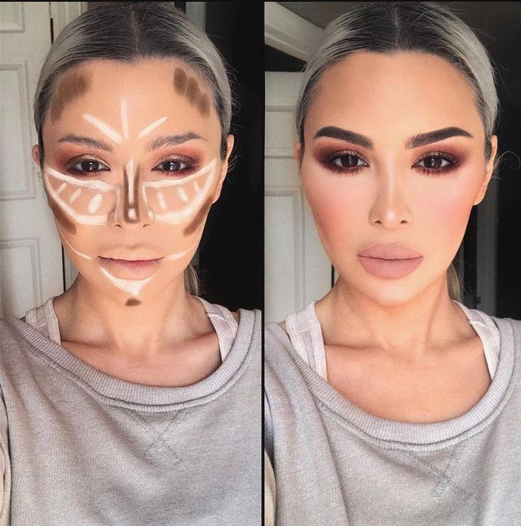 Photo of how to apply conture and highlight, easy conture makeup, makeup face , conture m…