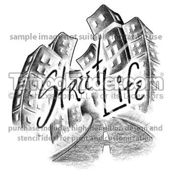 TattooFinder Street Life Tattoo Design By Fritz Black And Gray Urban