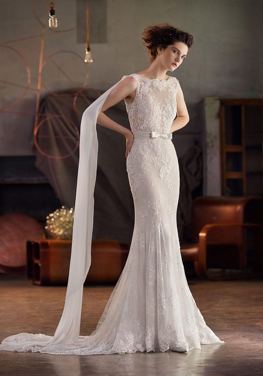 1930s style wedding dresses  Lusan Mandongus  Bridal Collection  bridal gown  Pinterest