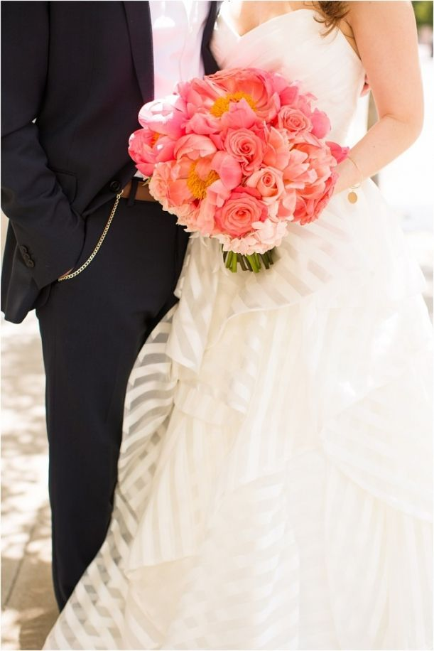 Navy and Pink Richmond Wedding as seen on Hill City Bride by Allison Maxwell Photography 13