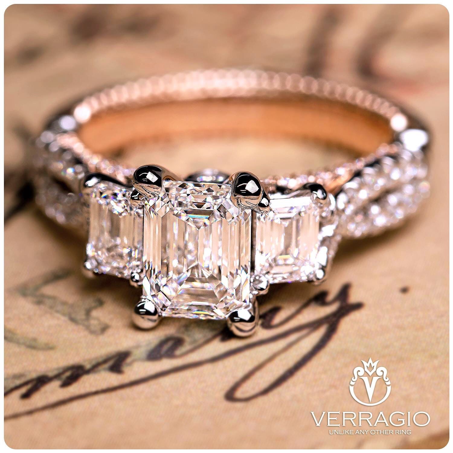 Pin On Verragio Engagement Rings By Emerald Lady Jewelry Destin Fl