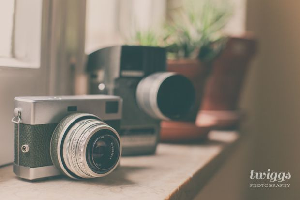 Simple Things // Vintage Cameras   A Place For Twiggs