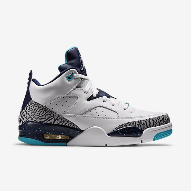 nike high tops sneakers white black blue jordans shop instagram Jordan Son Of Mars Low