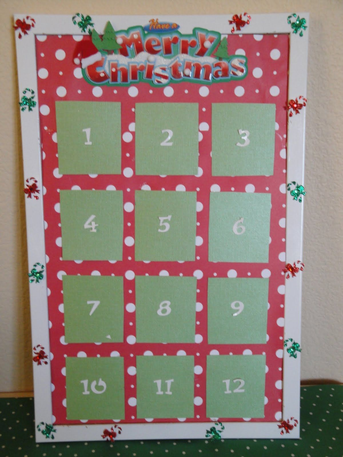 Advent Calendar Bulletin Board : December bulletin board ideas days of christmas