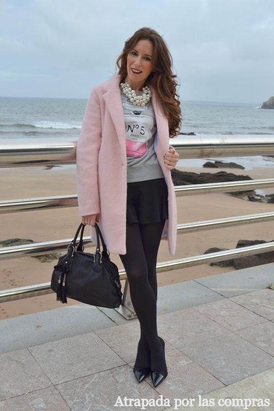 3aad98c524 Como combinar un abrigo rosa