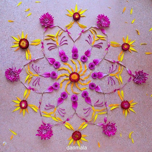 Strawflower Gerbera Daisy Alstroemeria Mum Danmala Kathyklein Flowerart Flowerpower Flowerstagram Flowers Flowe Flower Mandala Flower Art Mandala Art