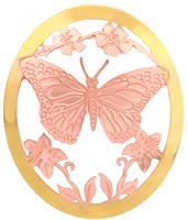 Butterfly Brooch, Butterfly Cut Out Jewelry by Copper Reflections
