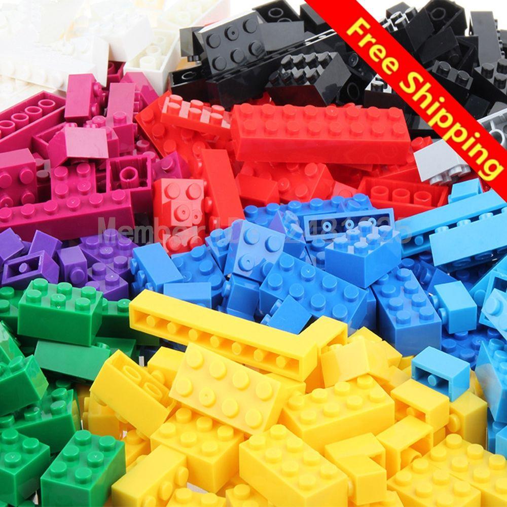 1000PCS Bright-colored Toy Building Bricks DIY Set Creative Educational for kids