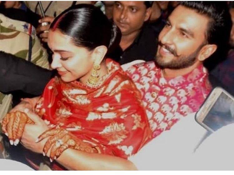 Check Out The Way Ranveer Singh Protected His Precious Deepika Padukone In The Chaotic Airport Is Priceless Hungryboo Deepika Padukone Ranveer Singh Deepika Ranveer