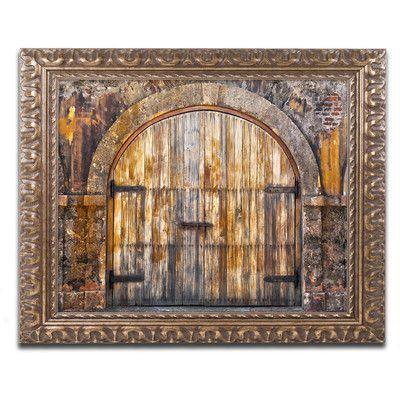 "World Menagerie Castillo San Felipe del Morro 16 Framed Photographic Print Size: 16"" H x 20"" W x 0.5"" D"