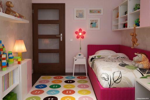 Amenajare Camera Montessori : Model de amenajare pentru o camera de fetita imaginea 2