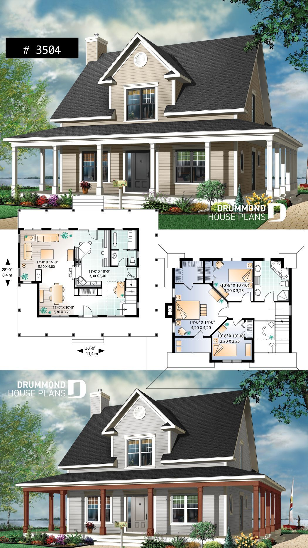 Modernarchitecture In 2020 Farmhouse Cottage Plans Farmhouse Style House Cottage House Plans