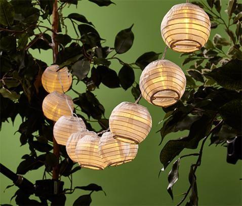 Solar Led Lampionkette Online Bestellen Bei Tchibo 326944 Lampions Tchibo Lichterkette
