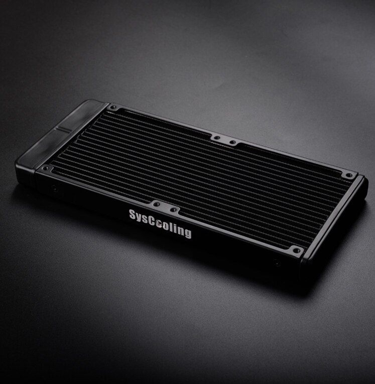 Syscooling Ultra Thin 22mm Aluminum Radiator As240 T For Liquid