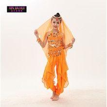 556b0374d Kvalitní indické kostýmy Sari Oriental Dětské kostýmy pro děti Oriental  taneční kostýmy Břišní tance Sety Taneční oblečení | na maškarák | Dance  outfits, ...