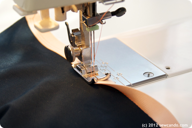 How to sew knits without a serger by sewcando.com