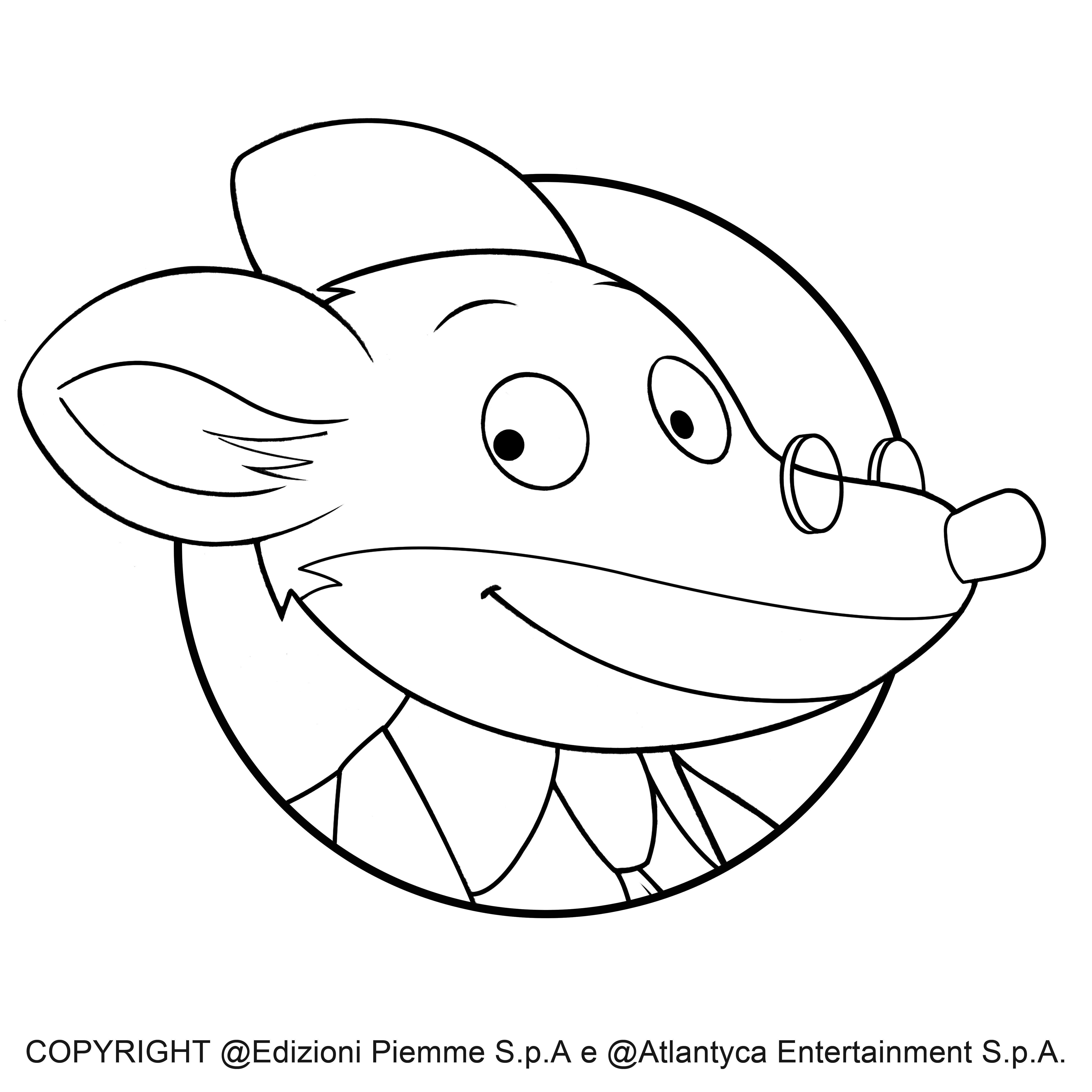 Pin Di Regin La Radiosa Su Colora Geronimo Stilton