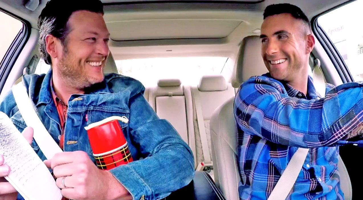 Country Music Lyrics - Quotes - Songs Blake shelton - Blake Shelton and Adam Levine Commute To Work Together in Hilarious Clip! - Youtube Music Videos http://countryrebel.com/blogs/videos/28499523-blake-shelton-and-adam-levine-commute-to-work-together-in-hilarious-clip