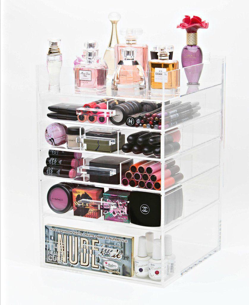 Makeup Organizer 7 Tier Makeup Storage Acrylic by MakeupOrganizer