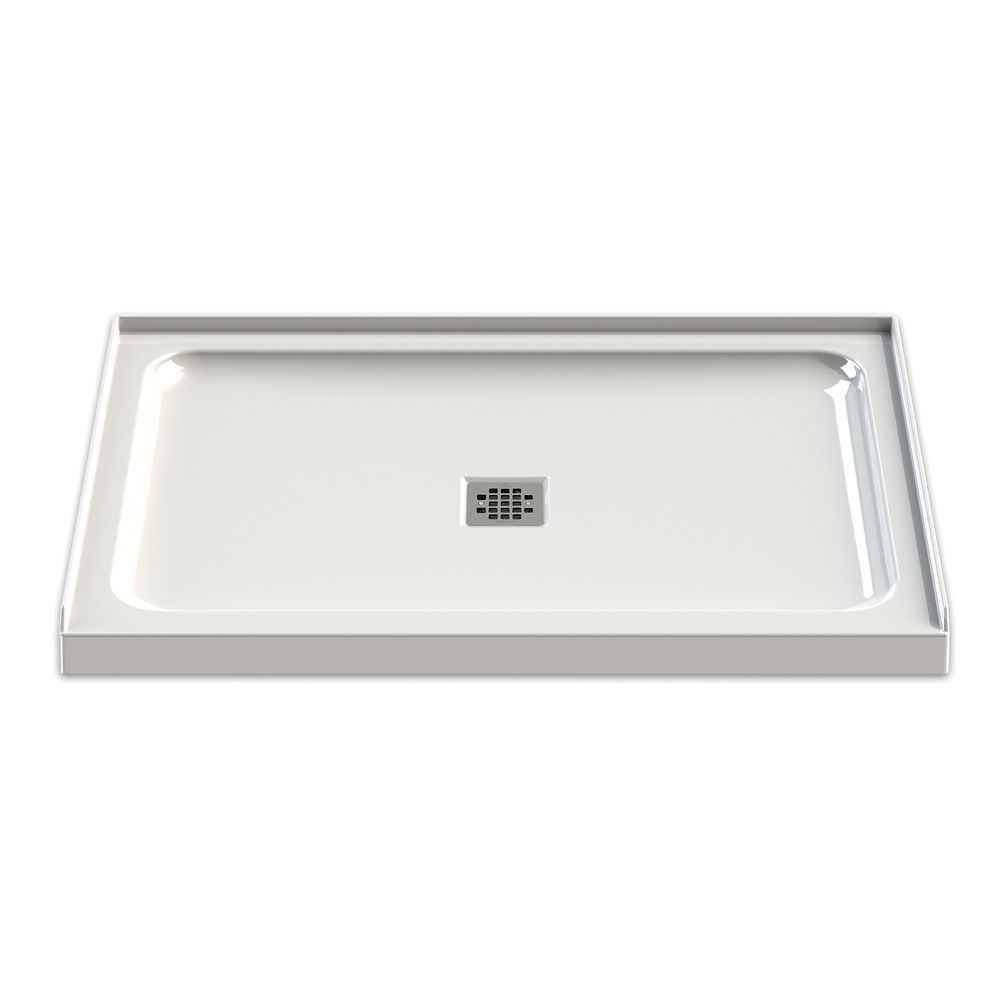 White Olympia Base 48 Inch X 32 Inch Square Drain With Images