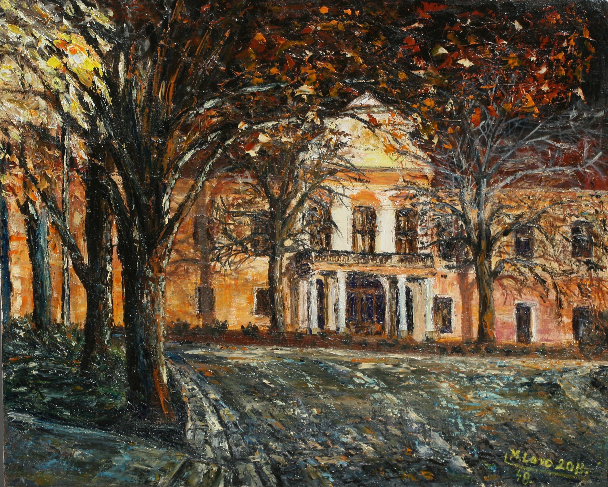 M. Lavo: Zlaté Moravce - Mestské kultúrne stredisko