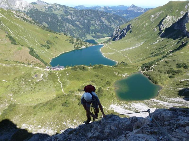 Klettersteig Tannheimer Tal : Klettersteig lachenspitze vom vilsalpsee aus landschaften