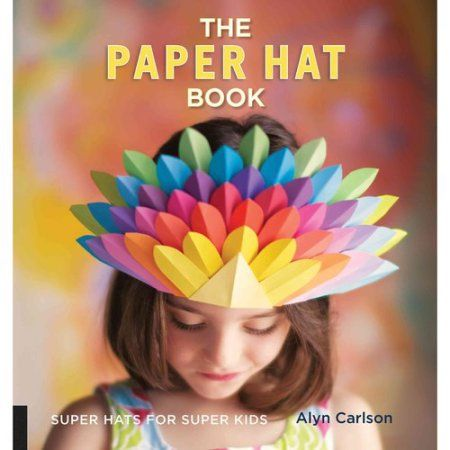 The Paper Hat Book - Walmart.com #crazyhatdayideas