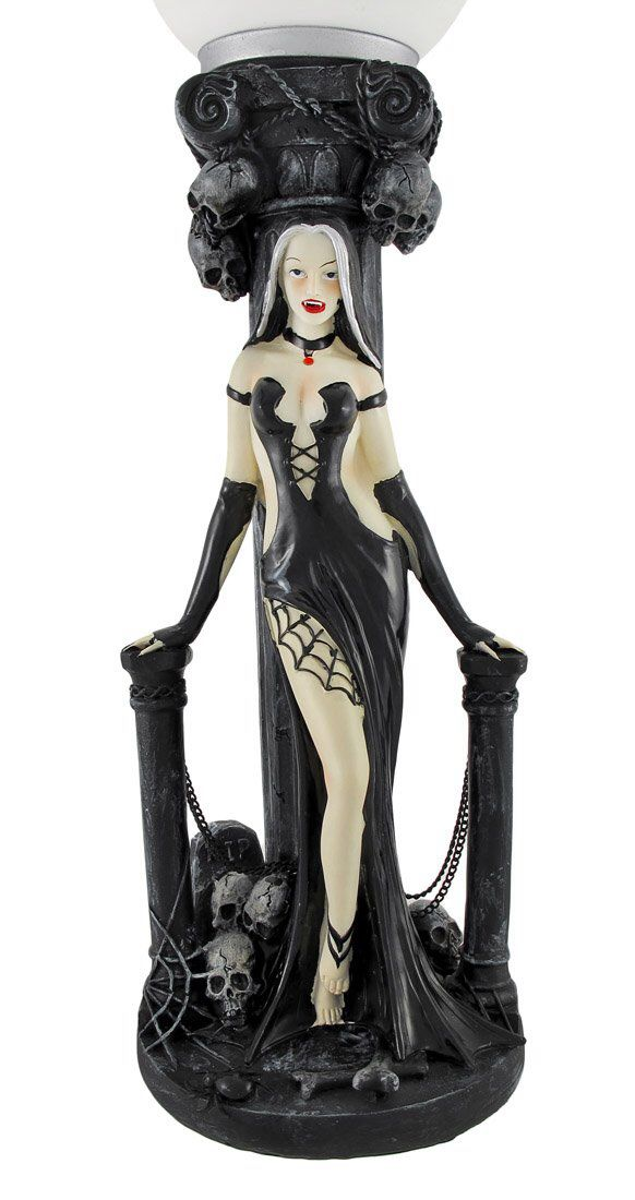 Goth Vamp Lamp