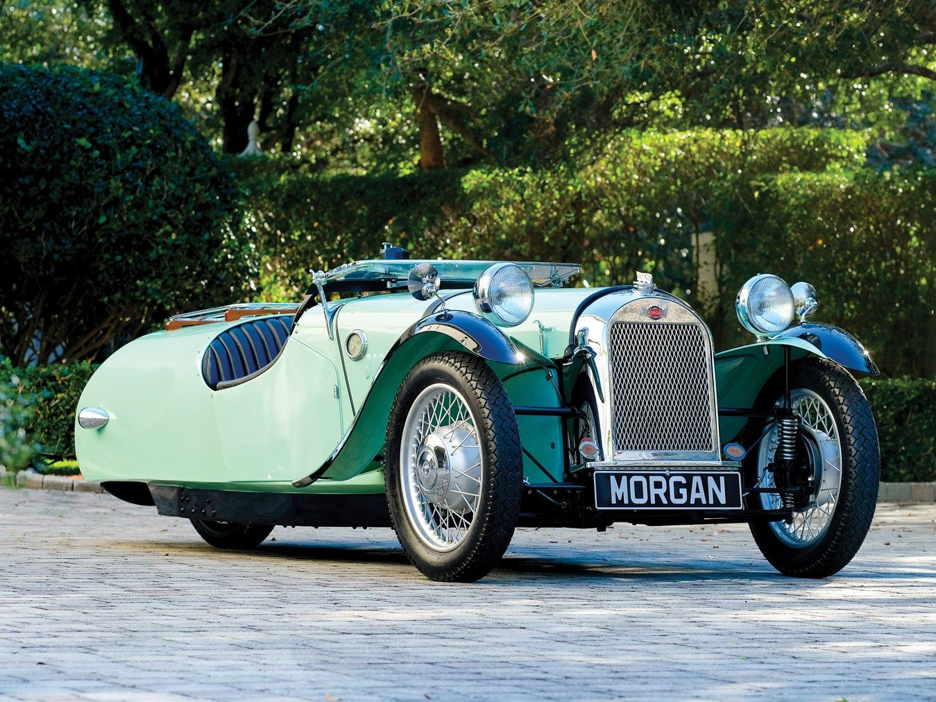 1947 Morgan F-Super Chassis No.761 Engine No.E93A6050B | Morgan ...