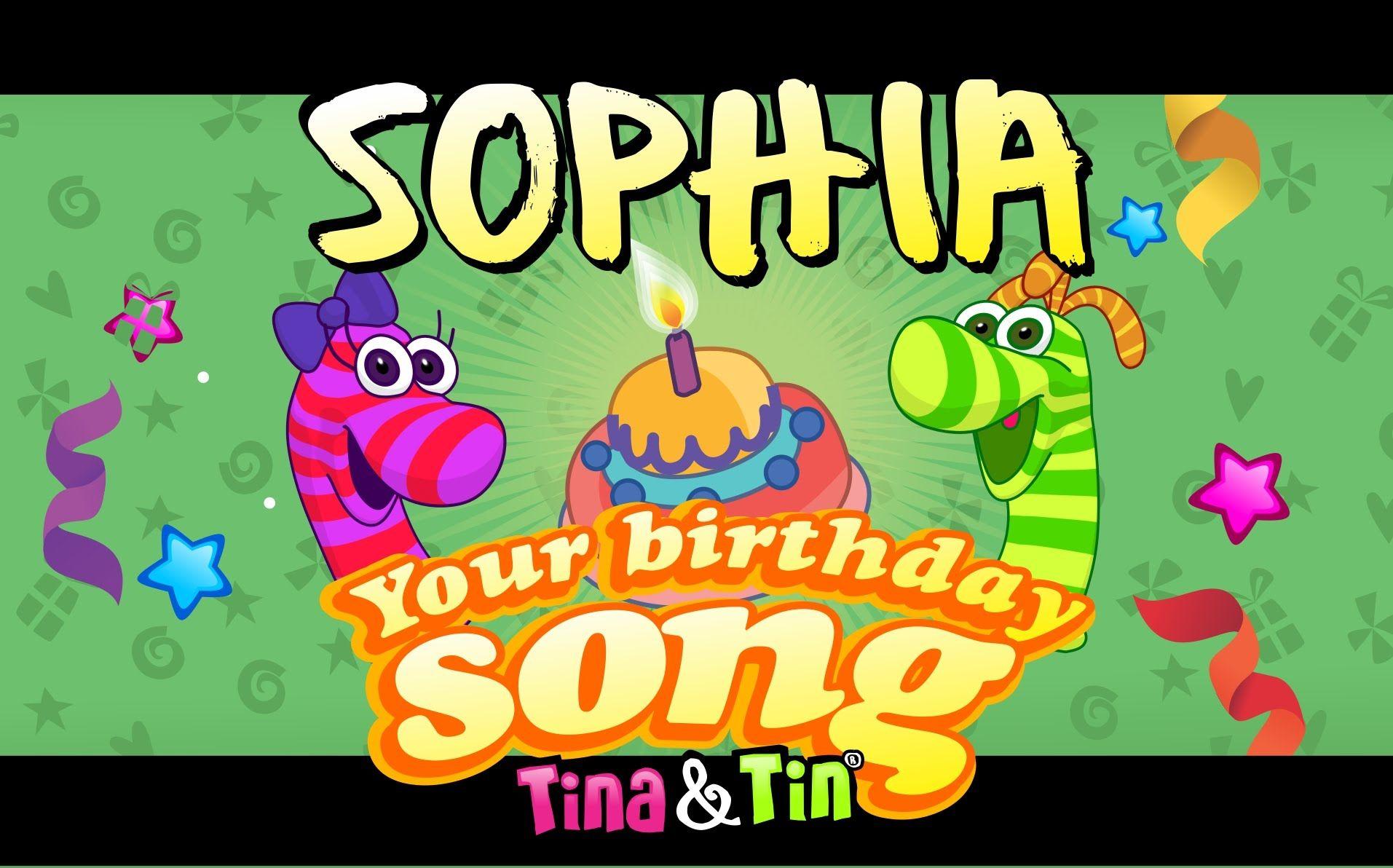 Tina&Tin Happy Birthday SOPHIA Happy birthday nicole