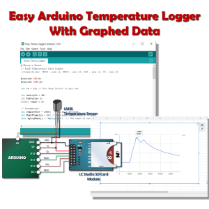 Easy Arduino Temperature Logger Arduino Arduino Projects Logger