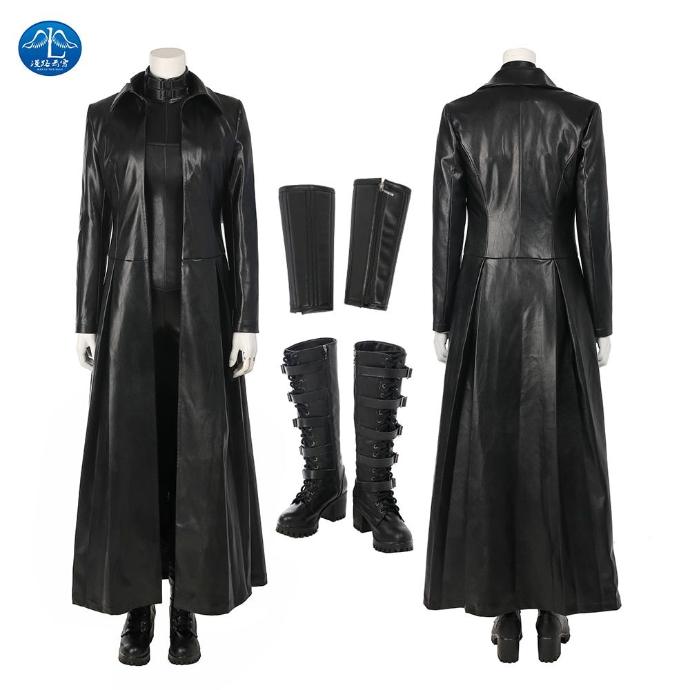 Underworld Blood Wars Vampire Warrior Selene Outfit All Size Cosplay Costume Hot