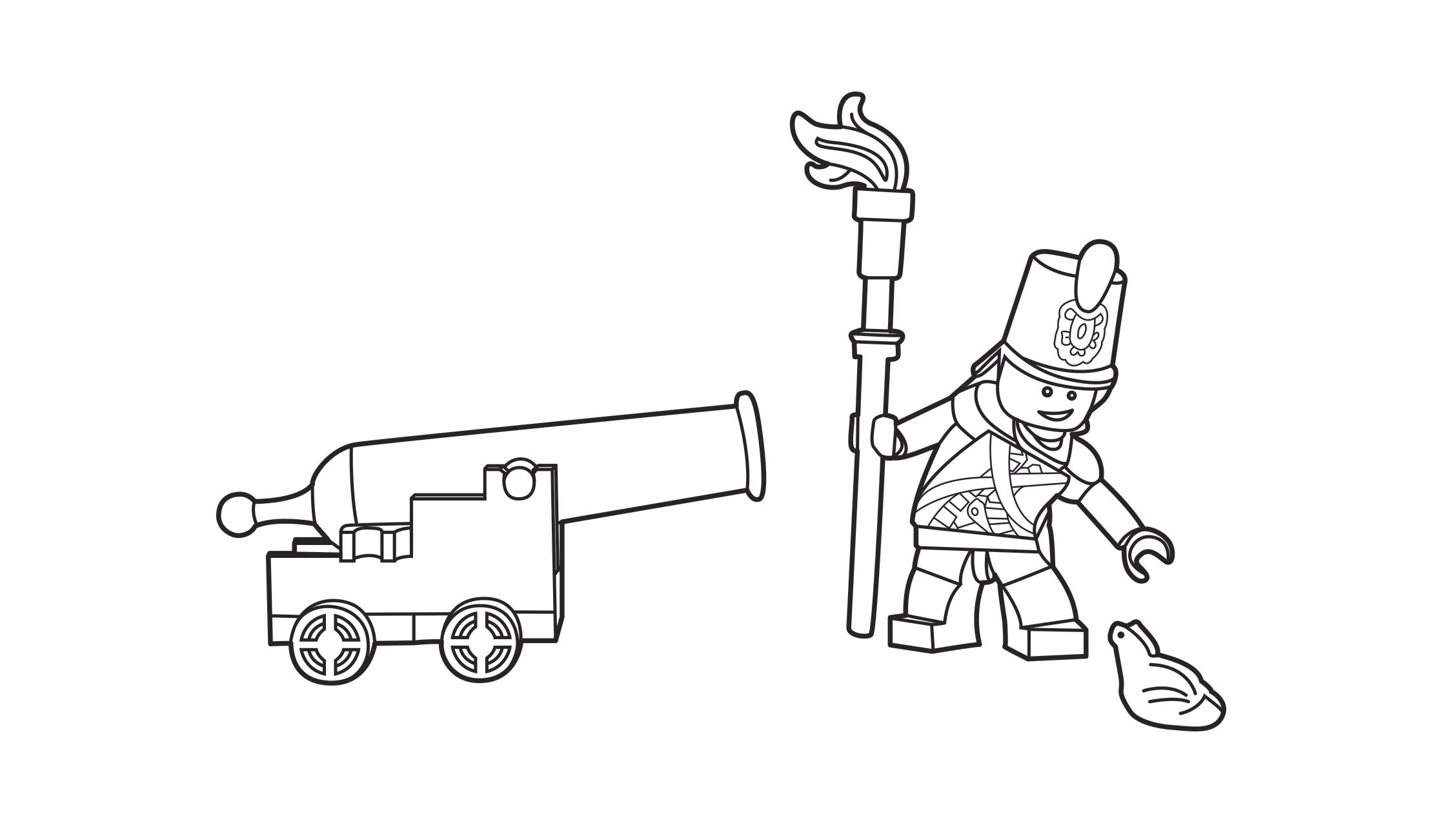 Lego A Close Shave Coloring Page