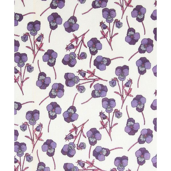 Liberty Art Fabrics Ros H (¥2,620) found on Polyvore