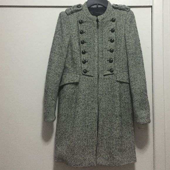 Zara Jackets & Coats - Zara Wool Coat