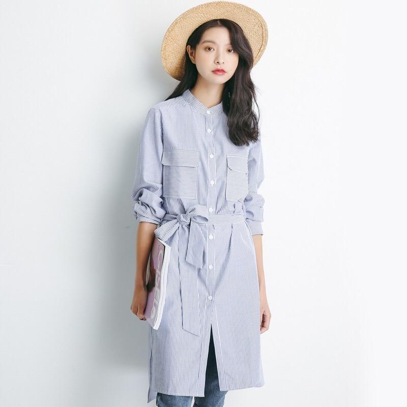 Cotton shirt dress shirt dress sweater dress midi lace
